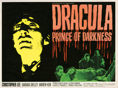 DRACULA PRINCE OF DARKNESS (aged) by Tom Chantrell - print