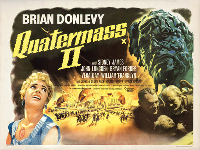 QUATERMASS 2 (aged) by Bill Wiggins - print