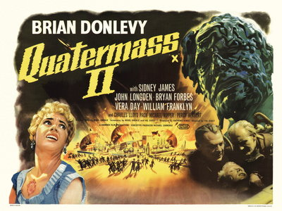 QUATERMASS 2 (restored) by Bill Wiggins - print
