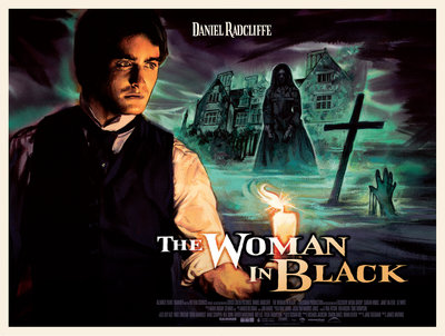 THE WOMAN IN BLACK (classic) by Graham Humphreys - print