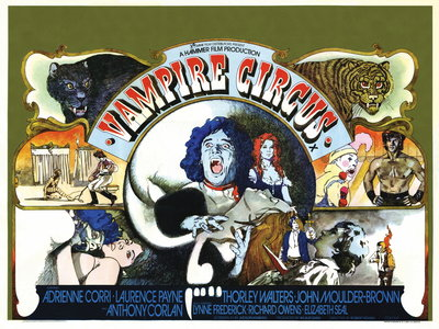 VAMPIRE CIRCUS (restored) by Vic Fair - print