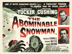 THE ABOMINABLE SNOWMAN (aged) Poster Art Print by Tom Chantrell