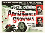 THE ABOMINABLE SNOWMAN (restored) Poster Art Print by Bill Wiggins