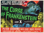 THE CURSE OF FRANKENSTEIN (aged) Poster Art Print by Hoo-Ha