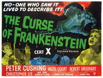 THE CURSE OF FRANKENSTEIN (restored) Poster Art Print by Tom Chantrell