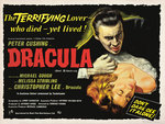 DRACULA (aged) Poster Art Print by Tom Chantrell
