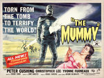 THE MUMMY (aged) Poster Art Print by Tom Chantrell