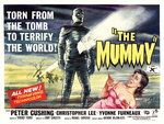 THE MUMMY (restored) Poster Art Print by Tom Chantrell