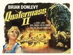 QUATERMASS 2 (restored) Poster Art Print by Tom Chantrell