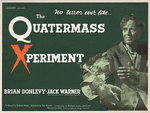 THE QUATERMASS XPERIMENT (aged) Poster Art Print by Tom Chantrell