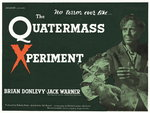 THE QUATERMASS XPERIMENT (restored) Poster Art Print by Tom Chantrell