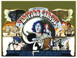 VAMPIRE CIRCUS (restored) by Tom Chantrell - print