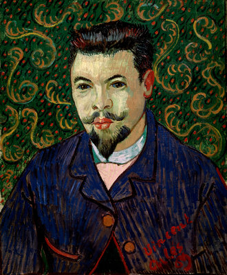 Portrait of Doctor Felix Rey Poster Art Print by Vincent Van Gogh