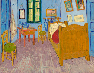Bedroom in Arles Poster Art Print by Vincent Van Gogh