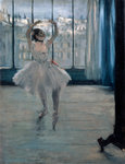 Dancer at the Photographer Poster Art Print by Caroline Jennings