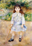 Child with a Whip Poster Art Print by Marjorie Weiss