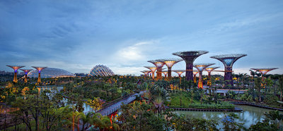Gardens by the Bay Poster Art Print by Joseph Meng Huat Goh