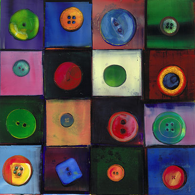 Buttons II by Ann Bridges - print