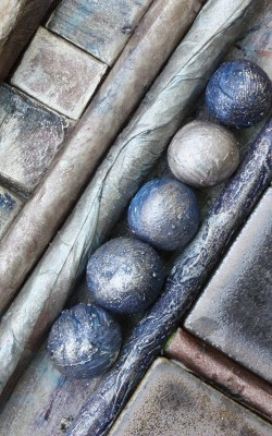 Pebbles IV by Alison Hine - print