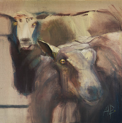 Sheeps Eyes by Amanda Page - print