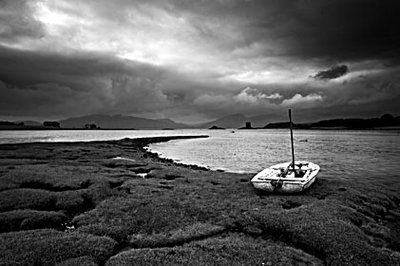Appin with Castle Stalker by Jon Gibbs - print