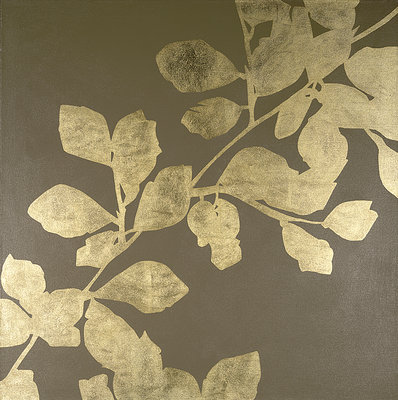Gold Leaves by Pip Hobman - print