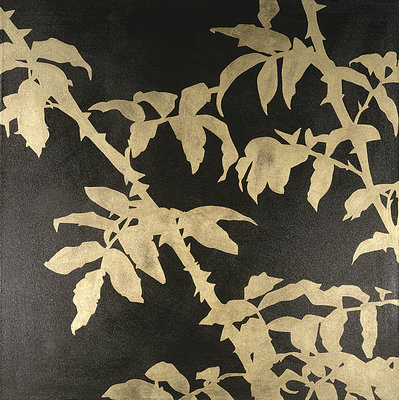 Rose Leaves I by Pip Hobman - print