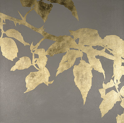 Rose Leaves II by Pip Hobman - print