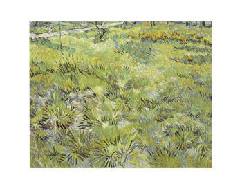 Long Grass with Butterflies, 1890 by Vincent Van Gogh - print