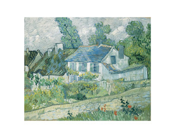 Houses at Auvers, 1890 by Vincent Van Gogh - print