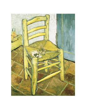Van Gogh's Chair by Vincent Van Gogh - print