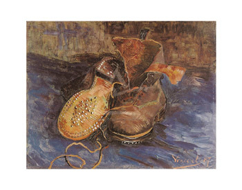 A Pair of Boots, 1887 by Vincent Van Gogh - print