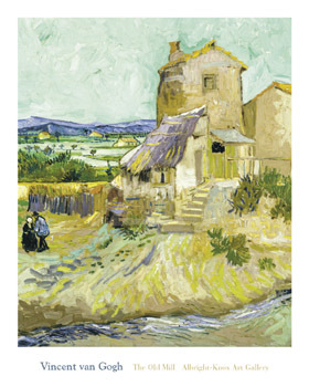 The Old Mill, 1888 by Vincent Van Gogh - print