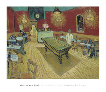 The Night Cafe, 1888 by Vincent Van Gogh - print