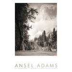El Capitan, Winter (embossed) by Ansel Adams - print