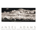 Mt. McKinley Range (embossed) by Ansel Adams - print