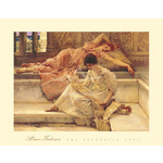 The Favourite Poet by Sir Lawrence Alma-Tadema - print