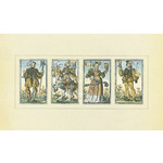 16th Century Playing Cards by Jost Amman - framed art prints and framed pictures