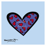 Blue About You by Romero Britto - print