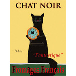 Chat Noir by Ken Bailey - framed art prints and framed pictures