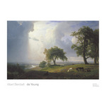 California Spring, 1875 by Albert Bierstadt - framed art prints and framed pictures
