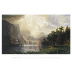 Among the Sierra Nevada, California, 1868 by Albert Bierstadt - framed art prints and framed pictures