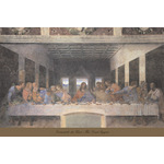 The Last Supper, 1498 (post-restoration) by Leonardo Da Vinci - print