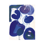 Blue Balls (serigraph) by Sam Francis - print