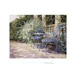 The Blue Chairs by Michael Felmingham - print