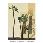 City Palms II by Mary Hunt - print