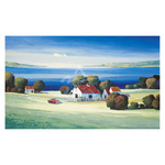Barns on Gamble Bay by Max Hayslette - framed art prints and framed pictures