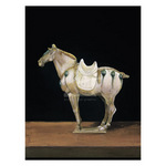 Asian Equus II by Hampton Hall - framed art prints and framed pictures