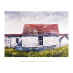 Blue Dory, Monhegan by Bradley Hendershot - print