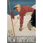 New Hampshire by Lou Hechenberger - print